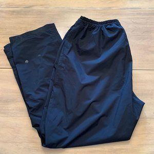 Dryjoy Sz XL Women Rain golf Pants black gripper